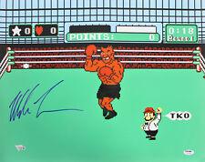 Mike Tyson Authentic Signed 16x20 Punchout Photo Fanatics COA #A214200