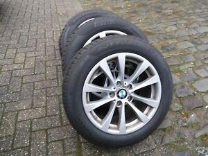 4 Orig BMW Alu Winterräder 3 er F34 GT mit RDKS -225/55R17 97 H M+S