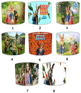 Peter Rabbit Lampshades, Ideal To Match Peter Rabbit Cushions & Covers