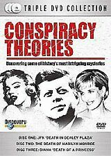 Conspiracy Theories (3-Disc Box Set) [DVD], in Good Condition, ,