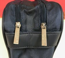 Giorgio Armani Men's Canvas Travel Toiletry Bag Shave Kit