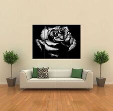 BLACK ROSE GOTHIC NEW GIANT POSTER WALL ART PRINT PICTURE G315