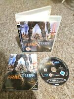 Fracture - Sony Playstation PS3 Game - With MANUAL! Private Seller - FREE P&P!