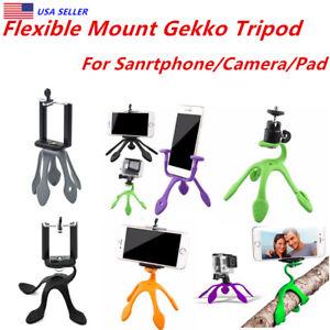 Flexible Mount Gekko Tripod For Smartphone,Action Camera & Compact Digital Green