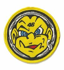 Patch thermocollant écusson brodé patche Rebel Boy 46 rond thermocollable