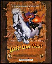 INTO THE WEST__Original 1994 Print AD / movie promo__GABRIEL BYRNE__ELLEN BARKIN