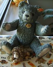 """STEIFF COLLECTION 1998 CLASSIC SILVER BEAR """"MOLLY""""  LEO MINT IN GIFT BOX 597295"""