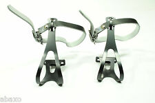 Toe Clips 4 Track/Fixed Gear/Fixie/Messenger Bike Pedal