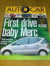 AUTOCAR - BABY MERC June 25 1997 Vol 212 No 12