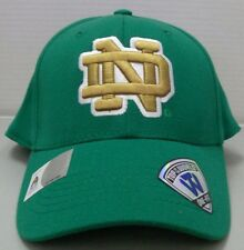 promo code 91e01 2231e Notre Dame Fighting Irish Stretch Fit Green Hat From Top Of The World
