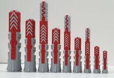 Fischer DuoPower Dübel Nylon 5, 6, 8,10,12, 14 mm, Universaldübel, Allzweckdübel