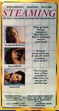 Steaming (VHS) 1985 drama stars Vanessa Redgrave, Diana Dors, Sarah Miles