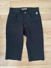 Novara pedal pusher style men's bike pants padded black sz 30