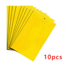 10X Hanging Sticky Board Fly Insects Mosquito Killer Pest Control Trap Catchers