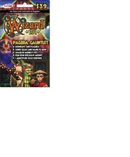 PAGODA GAUNTLET BUNDLE Wizard 101 Game Card CROWNS new Shaolin Monkey Pet +