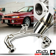 Stainless Steel Exhaust Header Manifold for 97-05 Subaru Impreza RS 2.5 EJ25 NA
