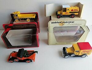 Matchbox Models Yesteryear all in mint condition in original boxes