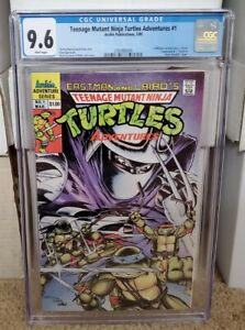 Teenage Mutant Ninja Turtles Adventures 1 CGC 9.6 WP 1989