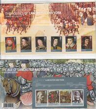 GB 2008 reyes y reinas presentación Pack Nº 409 y Mini Hoja SG:2812-2817