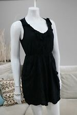 Adorable Women's Roxy Black Stretch Maxi Dress Very Comfy Size 8 XSmall