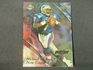 Michael Bishop 1999 Collectors Edge Masters HoloGold Rookie #113 Patriots