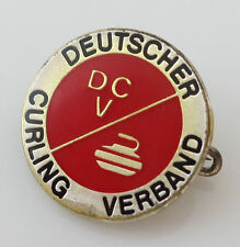 Vintage German Club Pin DEUTSCHER CURLING VERBAND