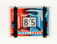 (I.B) George VI Revenue : National Insurance 8/5d
