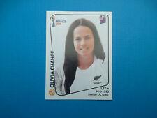 Figurine Panini Women's World Cup France 2019 n.379 Olivia Chance New Zealand