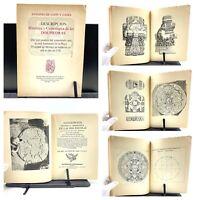 1978 Descripcion Historica y Cronologica de Las Dos Piedras, A. de Leon y Gama