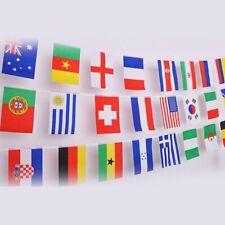 Bandiere internazionali decorative, paesi del mondo 25 Bandiere 10 Metri