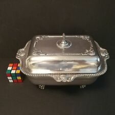 Antique English Silverplate Tureen Crest 3rd Earl of Carnarvon Highclere Castle