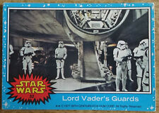 Topps Star Wars trading card blue series, 32 Lord Vader's Guards
