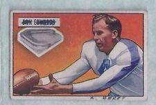1951 Bowman #43 Dan Edwards New York Yanks EX (MK)    No creases but writing
