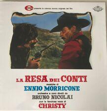 2 LP Ennio Morricone LA RESA DEI CONTI VINILE COLONNA SONORA OST
