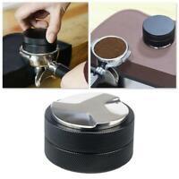 1xStainless Steel Coffee Press Distributor Leveler Tool Coffee Powder A0B7