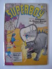 SUPERBOY #87 VG+  (4.5) INTRO KOLLI DC COMICS