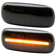 LED Indicators Black for Audi A2 8Z A3 8L A4 8D A6 C5 [7316-1]