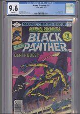 Marvel Premiere #51 CGC 9.6 198 Marvel Black Panther Comic: New Frame