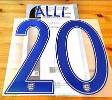 England EURO 2016 Home Shirt ALLI#20 OFFICIAL SportingiD PS-Pro Name Kit Set