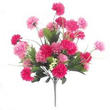 27 Flower Heads Pink, Dark Pink Chrysanthemum Bush/Bunch  | Use Indoor & Outdoor