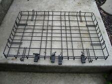 "Metal Offroad Roof Rack 38"" x 27"" with clips"