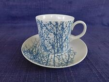 Mikasa Vera Birches Blue CUP & SAUCER 1 of 3 available have more items to set