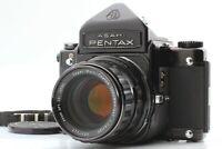 【Exc+++++】 Pentax 6x7 Eye Level + Takumar 105mm f/2.4 Lens From JAPAN #1889