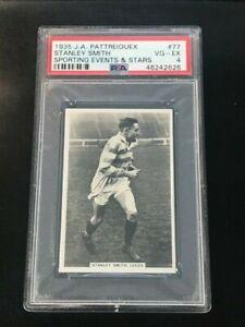 1935 J.A. Pattreiouex Sporting Events & Stars Stanley Smith Leeds #77 PSA 4
