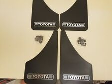 NOS Toyota Splash Guards..Old School Mud Flaps.Set of 4..Tundra..4 Runner Tacoma