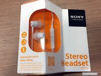 Sony MH750 Ohrhörer mit Mikrofon, im Ohr, weiß für XPERIA acro S, E dual, Ion