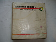 CHEAP Detroit Diesel Specifications FIELD SERVICE DATA Book Shop Manual Rev 1991