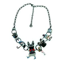 Collier LOL LOLILOTA Bijoux Le chien de cirque CoLOL026-gris