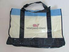 NEW VINEYARD VINES LARGE PLASTIC REUSABLE ECO SHOPPING TOTE LOGO BAG