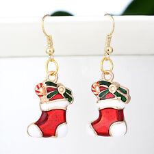 Handmade Xmas Gift Womens Gold Hook Ear Stud Earrings Jewelry DIY Shoes Style CN